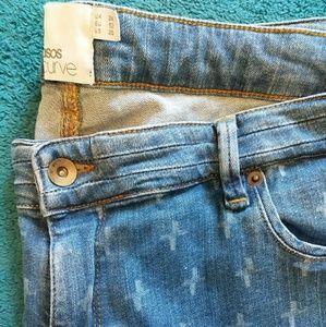 NWOT Asos Curve Skinny Jeans Plus Size 20